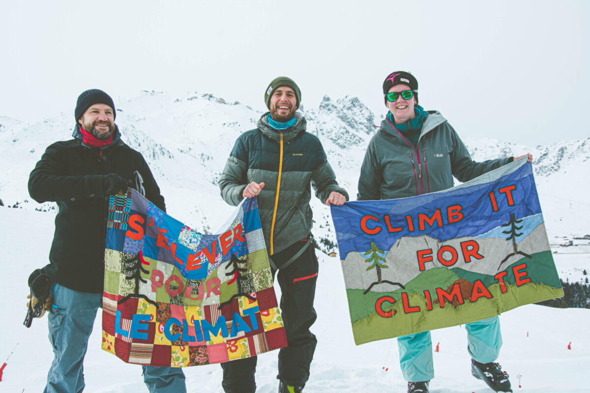 """The 1st """"Climb It for Climate"""" event"""